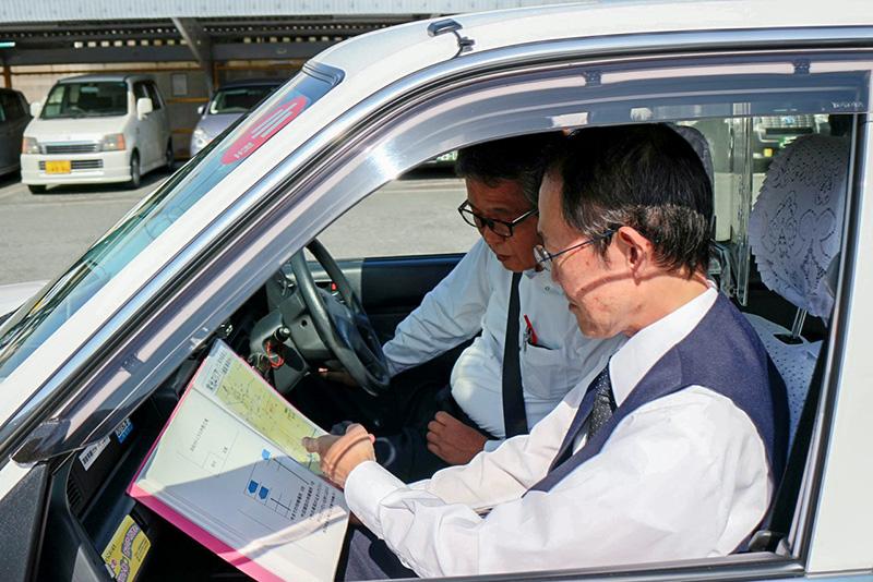 浜松タクシー(株)ではタクシー運転手を募集しています!